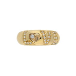 "Chopard Ring mit Brillanten ""LOVE"" in 750er Gelbgold"