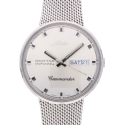 Mido Ocean Star Commander Herrenarmbanduhr in Edelstahl